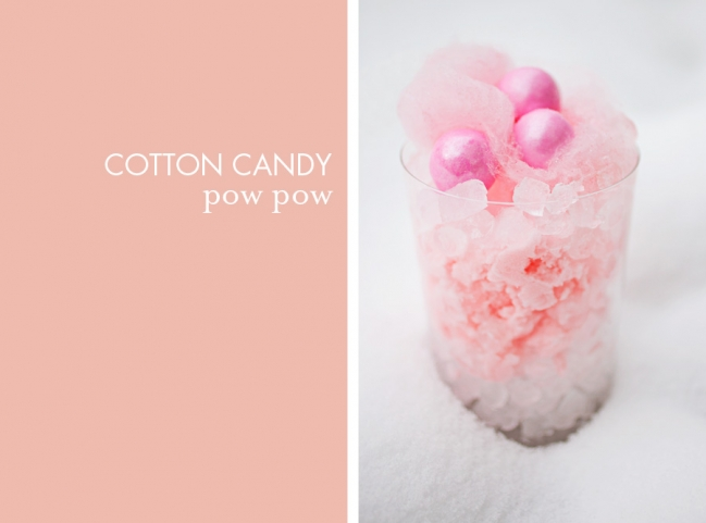 cotton candy snow ice cream